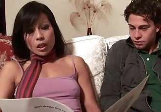 Asian MILF Max Mikita Gets Fucked By Stepson - 31 min