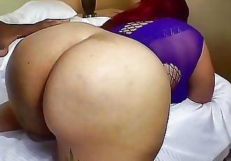 Chubby blasian getting big dick in BBWHIGHWAY 3 min HD