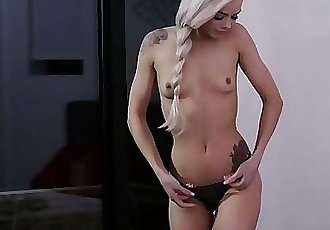 EroticaX Teen Elsa Jean Gives Euro Daddy Proper Pussy Gbye Gift 10 min 1080p