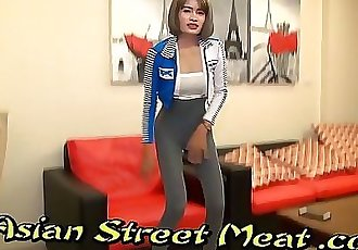 Restrained Asian Bondage Slapper With Sperm Matted Pubes 11 min HD+