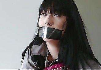 PunishTeens - Cute Gothic Schoolgirl Kidnapped & Sodomized