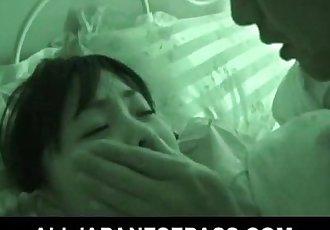 Sleeping angel Hikaru Momose has surprise sex - 7 min