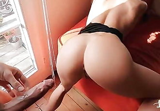 Funky Rough Sex at Home with Perfect Body Teen Girlfriend - Amateur LeoLulu