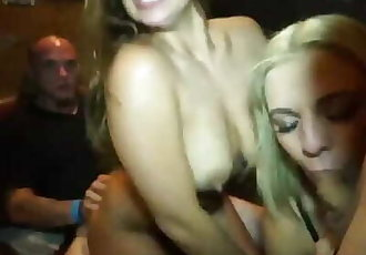 Pouya & Fat Nick fucks fans on backstage