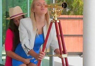 Lesbians Make Love Sex Scene On Camera movie-25