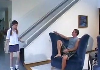 Fucking Her Boyfriend While Daddys Not HomeMygirlswebcam.com