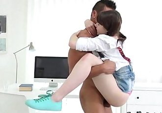 Naughty Teen Luna Rival Gets Banged By Jock