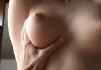 Amateur blonde on real homemade
