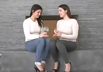 Superb Teen Lesbos In Hot Sex Scene On Cam Clip-29