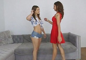 Leah Gotti and Eva Long Give And Take at Moms Bang Teens!HD