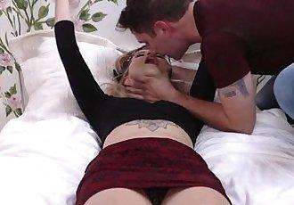Horny chick Arya Faye loves fucking hard dick