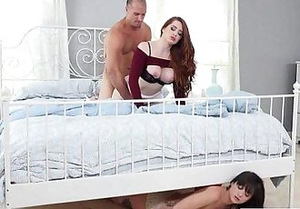 Stepdad Is Almost Caught Cheating with his Stepdaughter Gia Paige Veronica VainHD