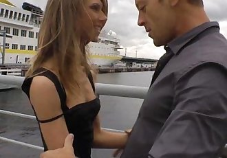 Rocco Siffredi Anally Defiles a Russian Ballerina on a LeashHD