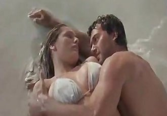 Kelly Brook fucking around Daneen Boone with Kimberly Rowe in the shower
