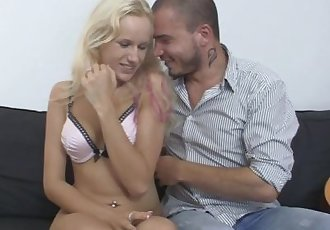 He caught his czech blonde gf cheating