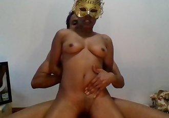 The Teen Neighbors Daughter-Golden Mask and Fuck Hard