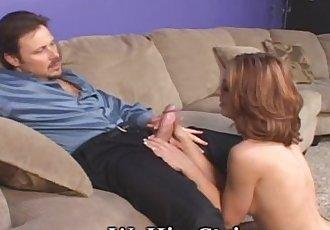 Hot Body Of Teen Enjoyed By Older Boss