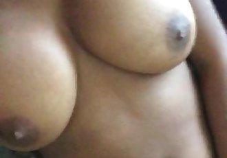 Ebony solo masturbation preview