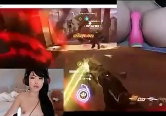 play overwatch while masturbate