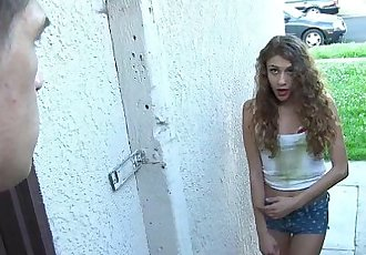 ExxxtraSmallCaged Teen Fucks A Big CockHD