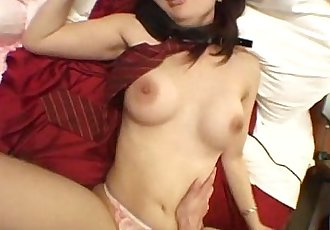Asian slut spreads her legs and gets fucked hard - 7 min