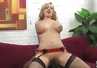 Girlfriend takes BBC while BF watching