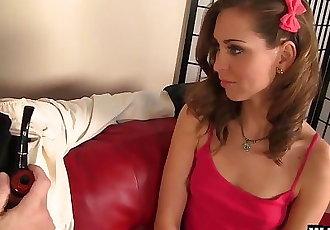 Teen Slut Riley Reid Squirts All Over Her Teacher!