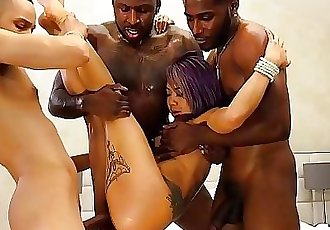 Big Dick Black Guys Team Work Gangbang On Petite Asian Babe 7 min HD+