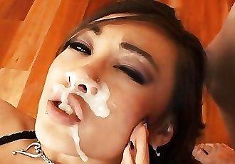 All Asian Facial Compilation 3