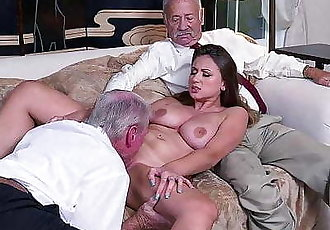 Old Guys Perving on Young GirlHD