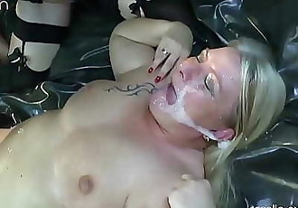 Unique, Kinky, extreme pervert! 2 Mega dirty sluts in action! 24 min