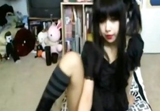 Gothic Asian Live Webcam - xxcam.net - 8 min