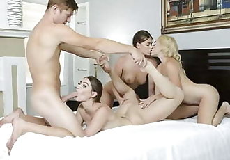 BFFS - Flexible Teens Get Fucked Hardcore By Their Trainer