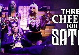 BurningAngel Three Little Cheerleaders for Satans Cock