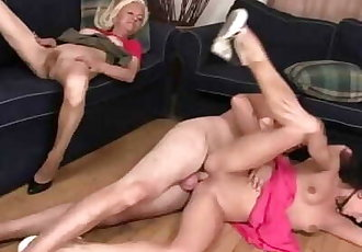 Our Son Founds us Fucking his Hot GF