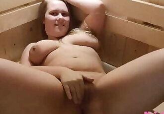Sauna Voyeur - it couldnt be Hotter!