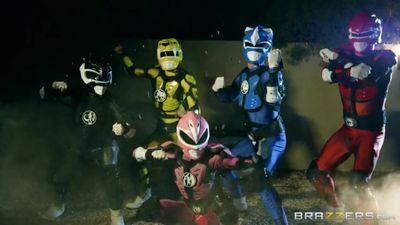 Brazzers - Power Bangers: A XXX Parody Part 2