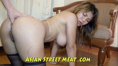 Pulsating Anus And Whopping Wobbly Asian BreastsHD