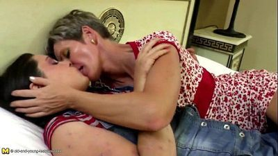 Old and young amateur lesbian pussy lickers-Get more girls like this on LESBIAN-SEX.ML