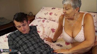 Old lady Savana fucked by student Sam BourneHD