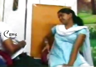 New Indian Village Girl Caught On Camera While Romancing With Boyfriend At - 3 min