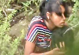 Indian Hot Girl Open Field Sex With Boyfriend Captured - Wowmoyback - 32 sec