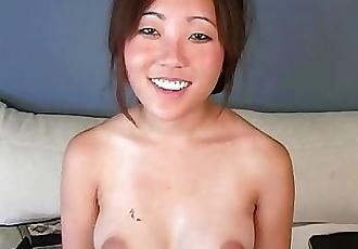 Teen Leili Koshi Takes a Big White Dick