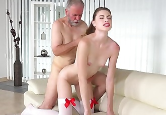 MILENA DEVI aka Ilona - Young Escort Fucks Him