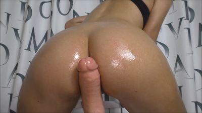 Oiled butt Asscheek fucking Helena Moeller