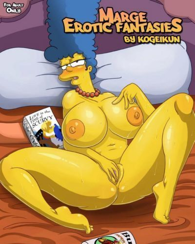 Marge's Erotic Fantasies-Simpsons