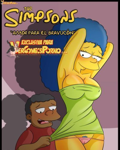 लॉस simpsons amor पैरा एल bravucón