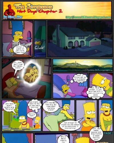 Simpsons Hot Days chapter 2