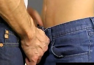 Twink video When Dustin Cooper is caught snooping for test-answers by