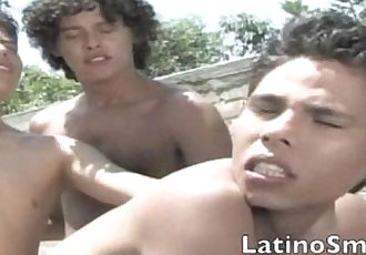 Three Spunky Latinos